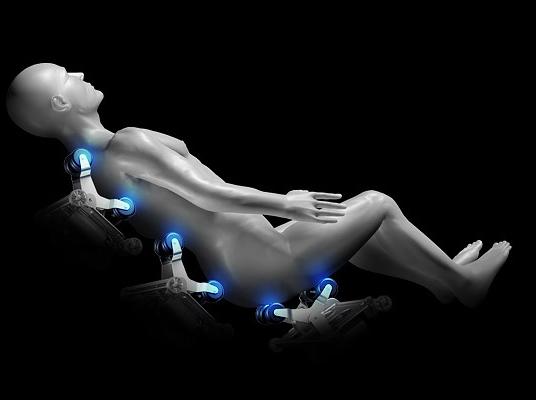 Zero Gravity-System Veleta Massagesessel